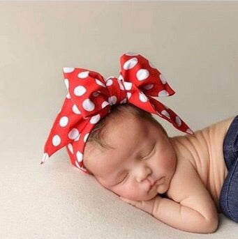 Mickey Inspired Bow Headwrap