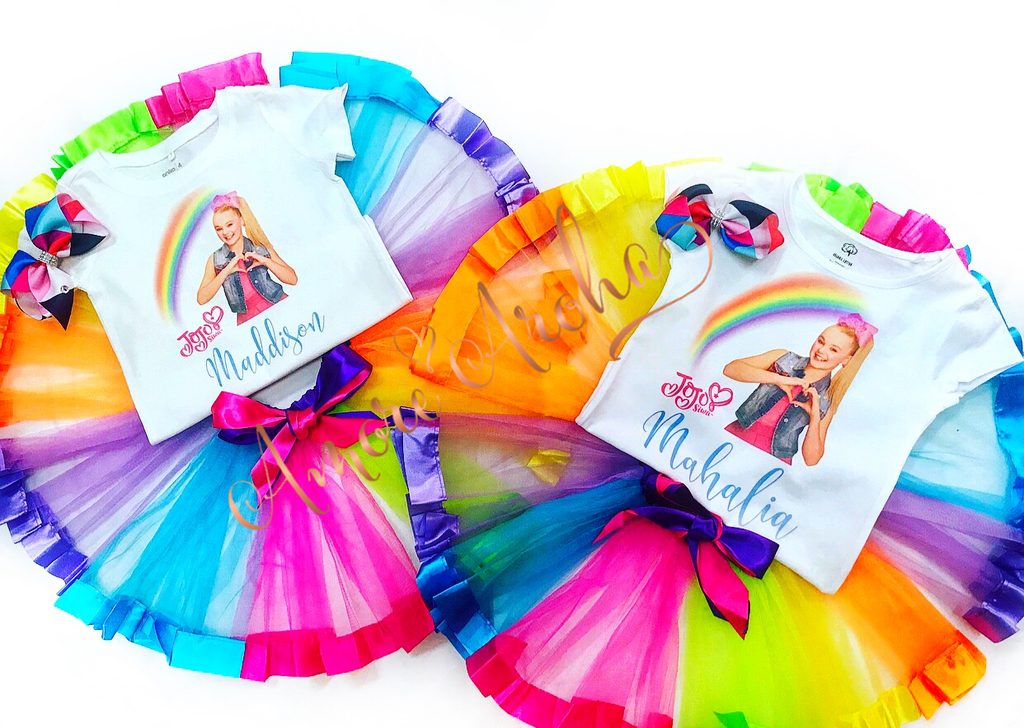 Personalised Jojo Siwa Tutu set