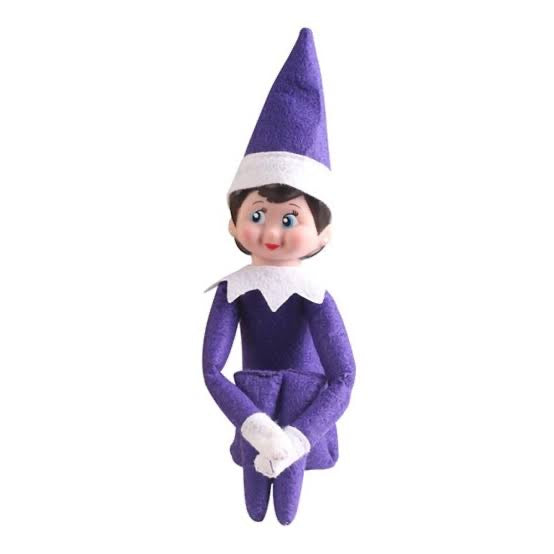 Elf on the Shelf - Purple