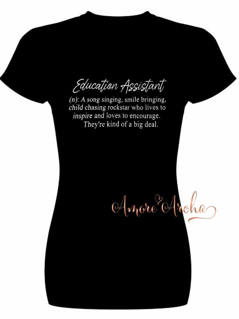 Teachers Assistant Tshirt