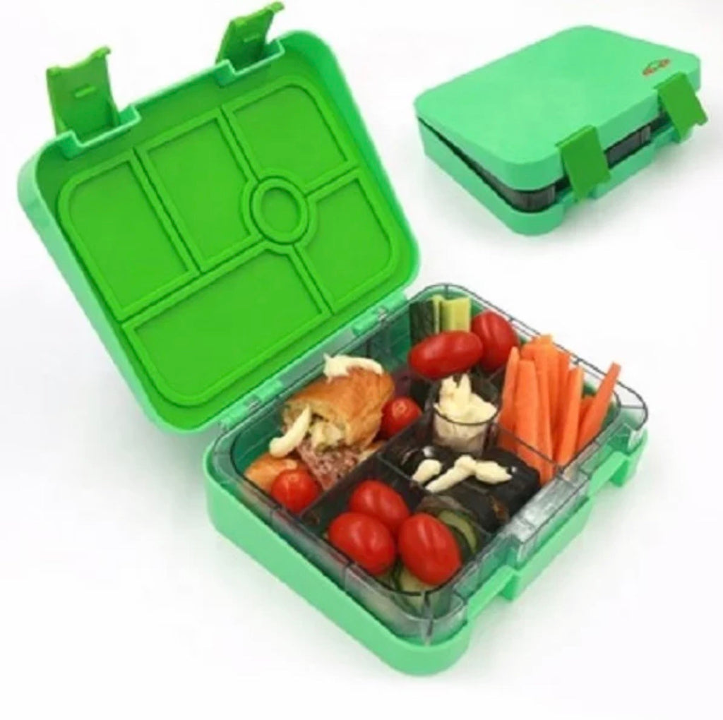 6 compartment lunch box