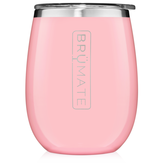 UNCORK'D XL 14oz Wine Glass by BrüMate | Blush