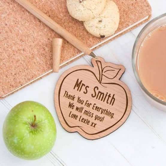 Teacher Apple Coaster