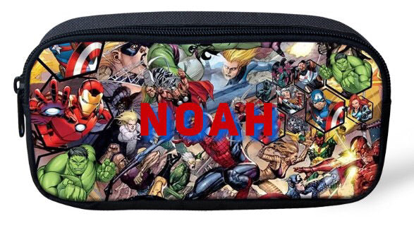 Personalised Pencil Case - Marvel