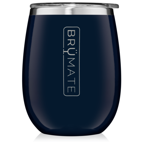UNCORK'D XL 14OZ WINE TUMBLER | NAVY