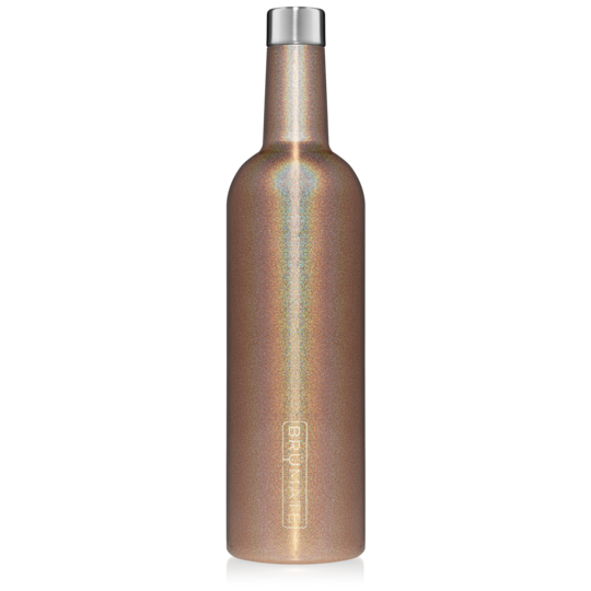 WINESULATOR™ 25OZ WINE CANTEEN | GLITTER GOLD