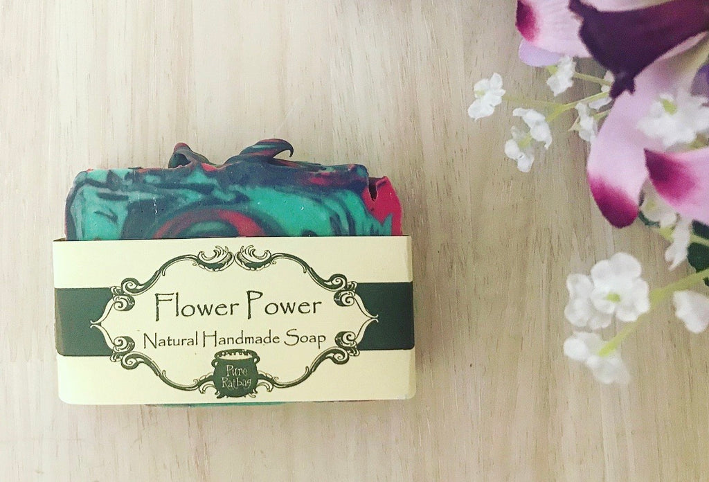 Hemp Oil Soap - Flower Power