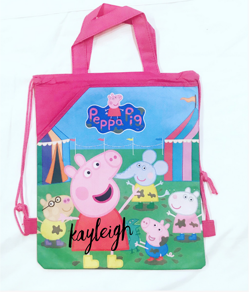 Peppa Pig Library Bag