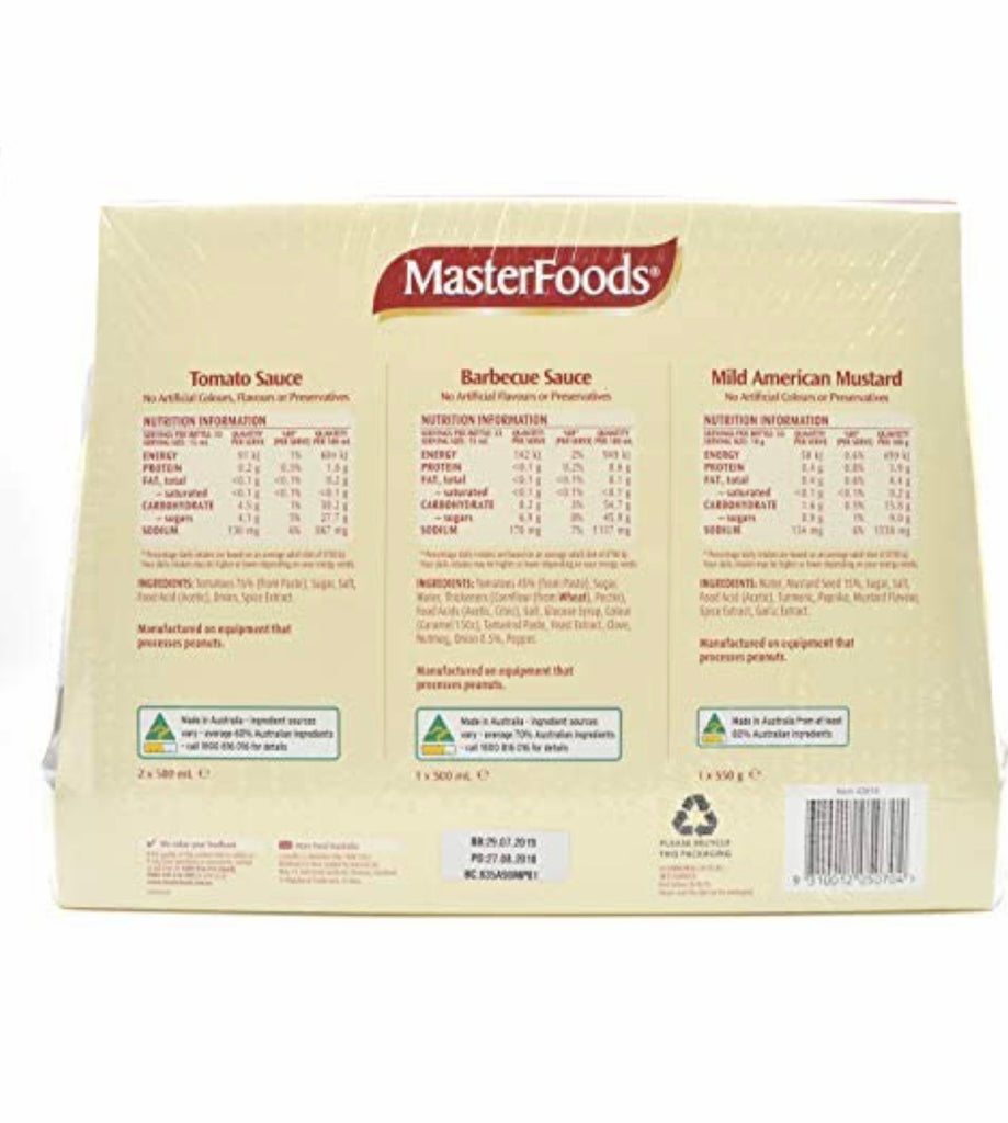 MasterFoods Entertainers Pack