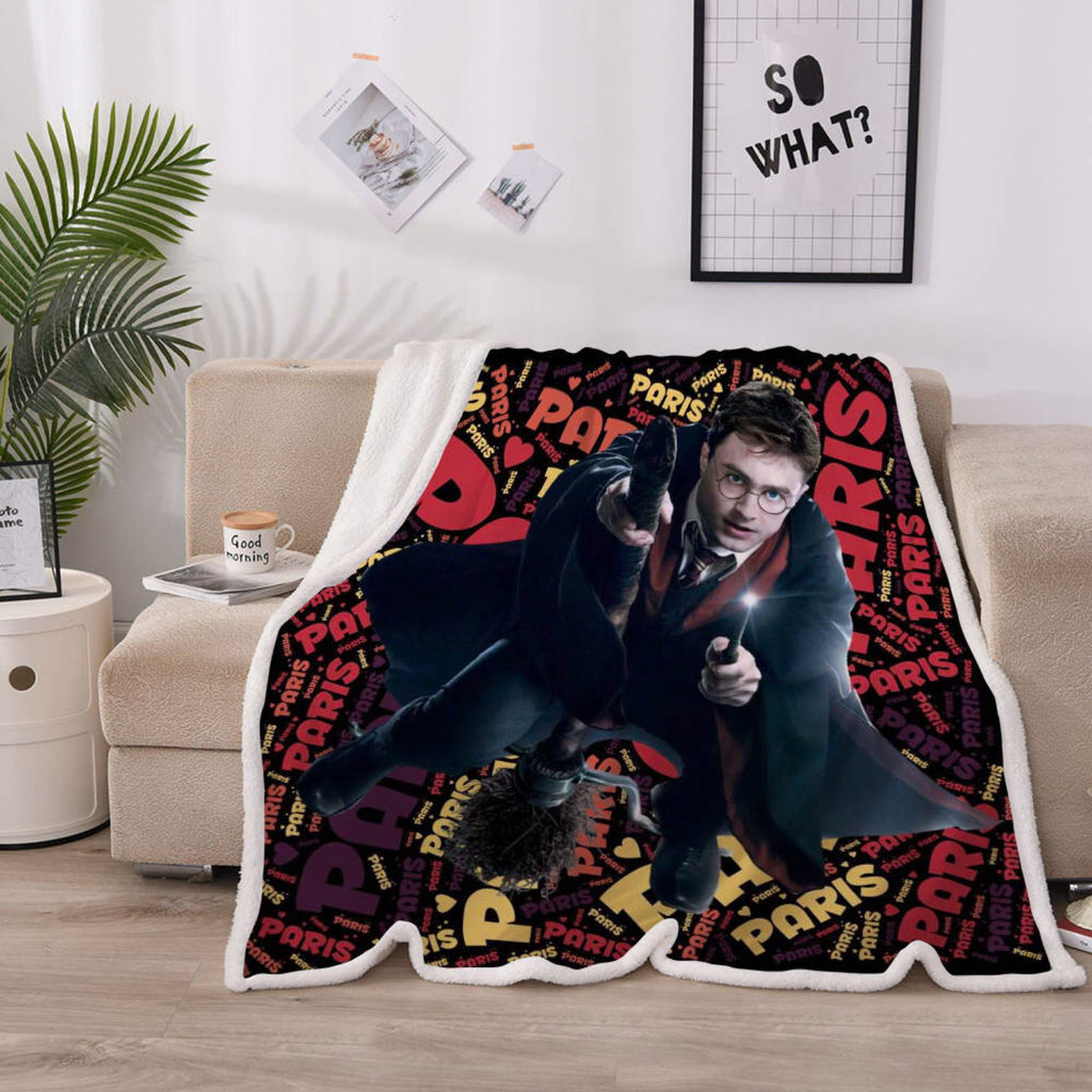 Personalised Blanket - Harry Potter