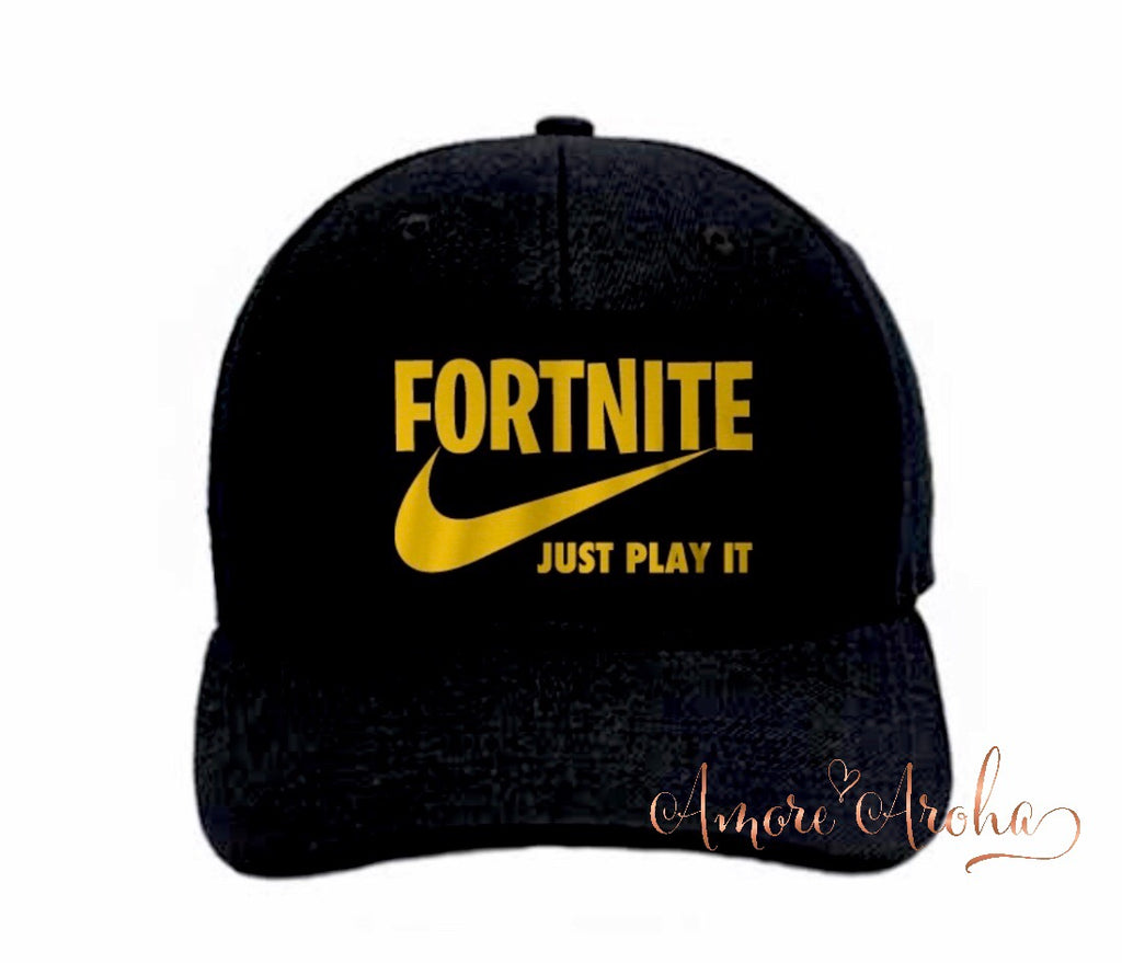 Fortnite Just Play it Hat