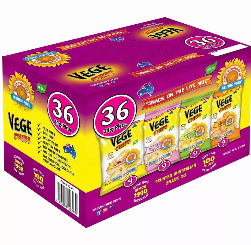 Vege Chips 36 pack