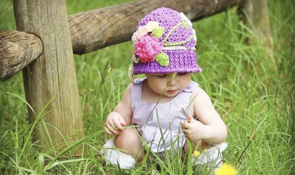 Crochet Hat size 2 years +