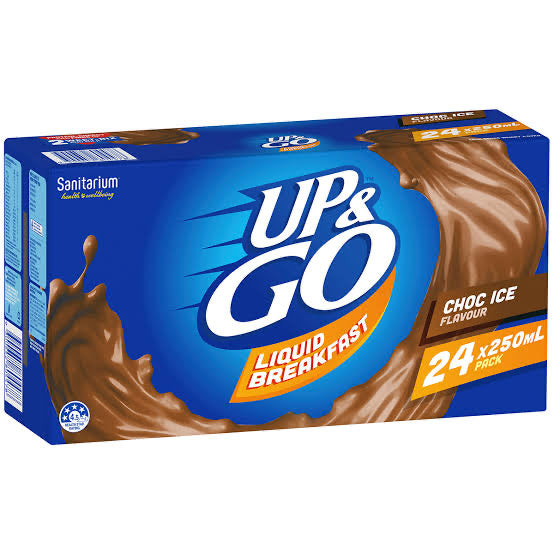 Up & Go Chocolate Ice 24x 250ml