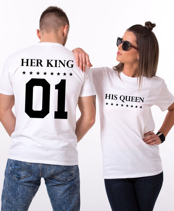 His Queen Her King Tee
