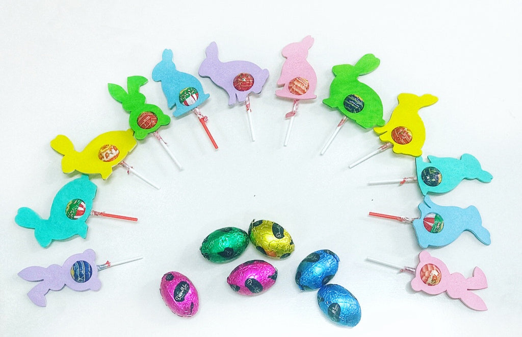 MDF Easter Bunny Lollipop Holders