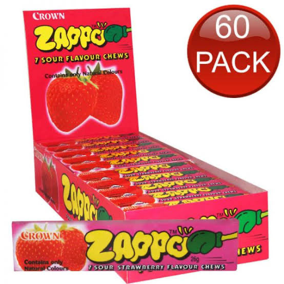 Zappo 60 pack Strawberry