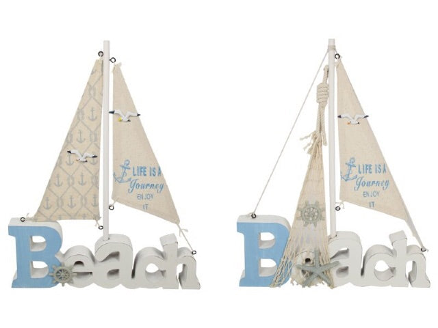 Sail Boat Decor