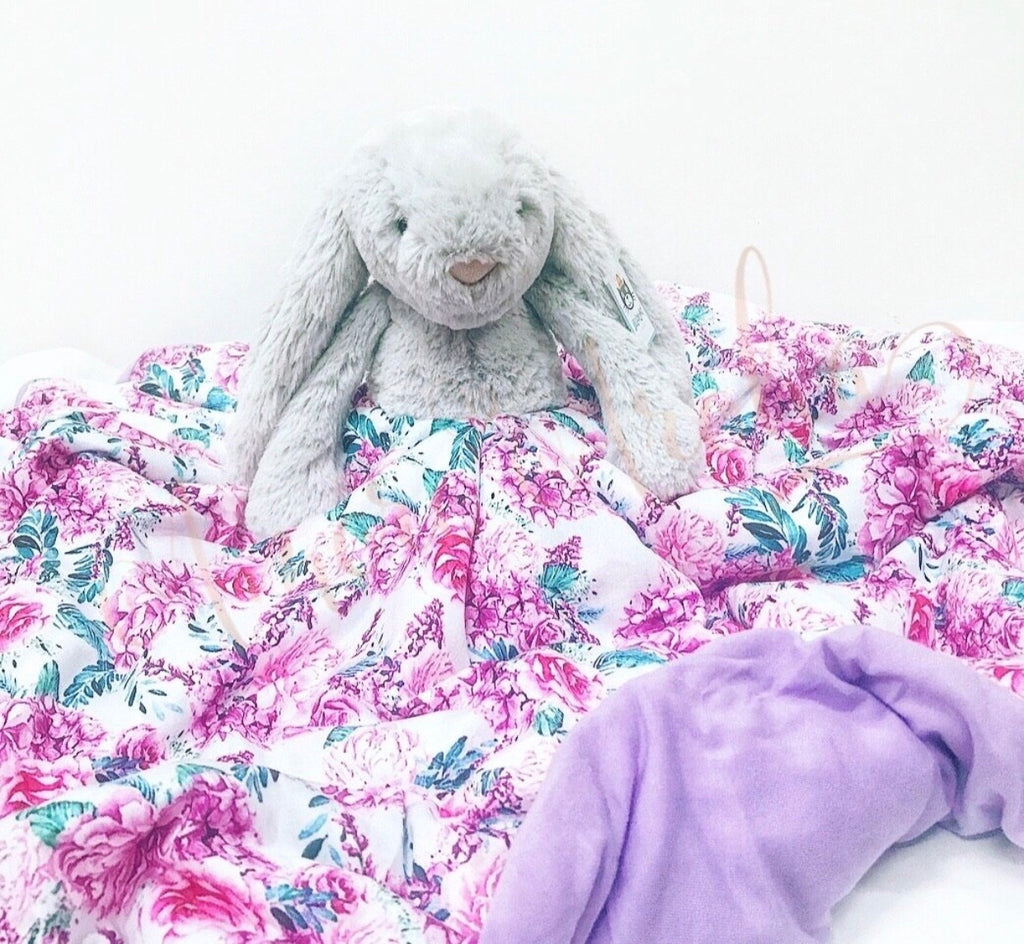 Cuddle Blanket - Silver Jellycat