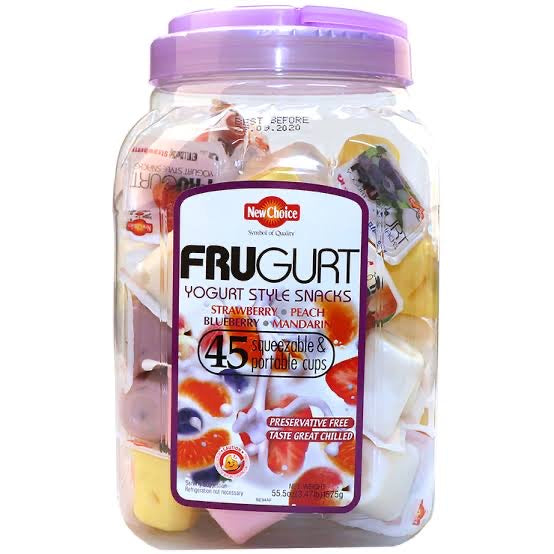 New Choice Frugurt Yogurt Style Snacks 45 X 35g