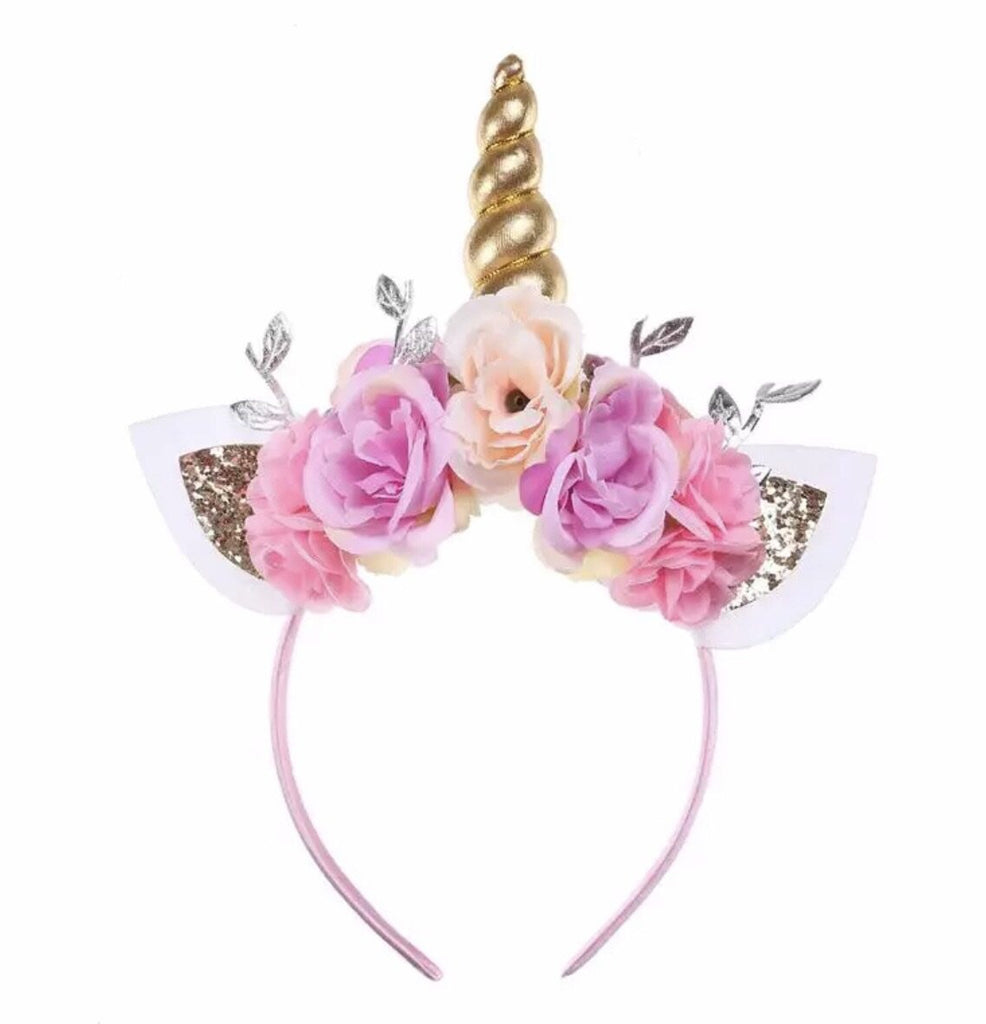 Unicorn Headband - Pink