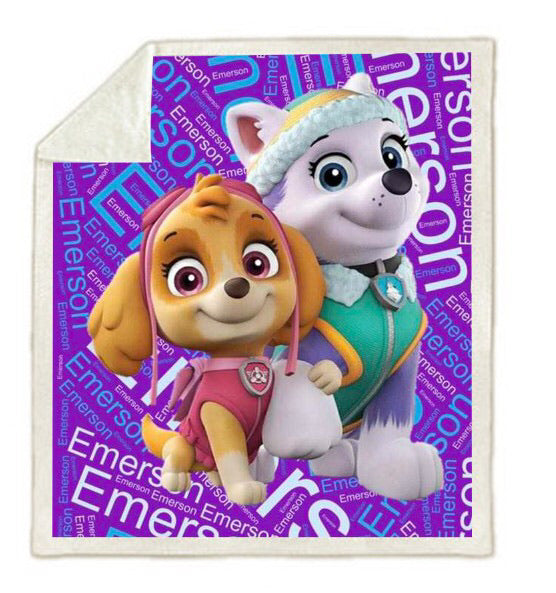 Personalised Blanket - Paw Patrol