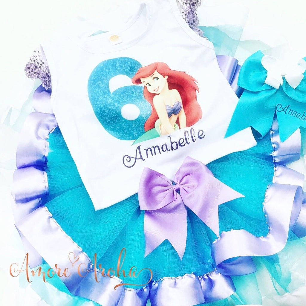 Little Mermaid Theme Birthday Set