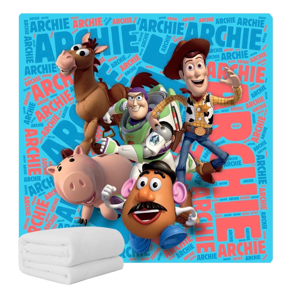 Personalised Blanket - Toy Story
