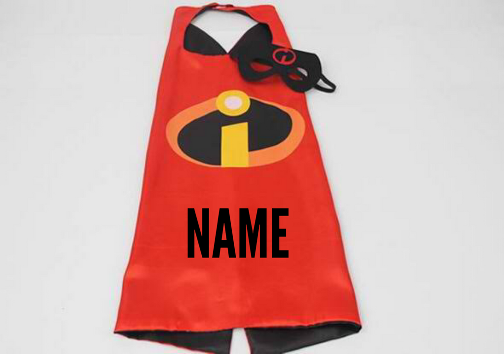 Personalised Cape and Mask Set - Mr Incredible