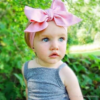 Pink Bow Headwrap