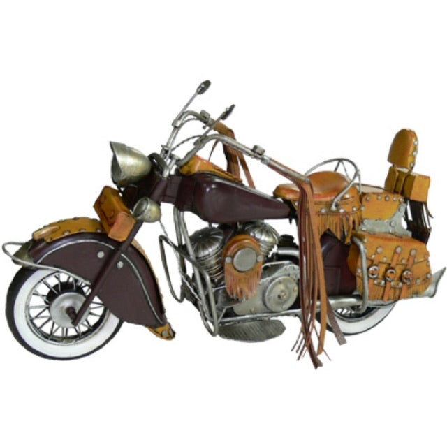 Motorbike Indian with leather handles