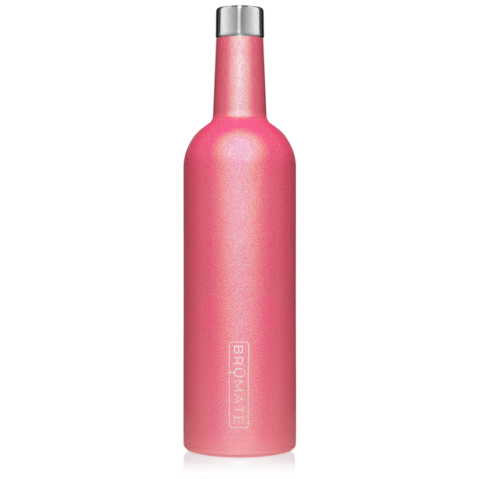WINESULATOR™ 25OZ WINE CANTEEN | GLITTER PINK