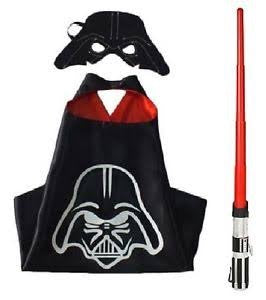 Cape and Mask Set - Darth Vader