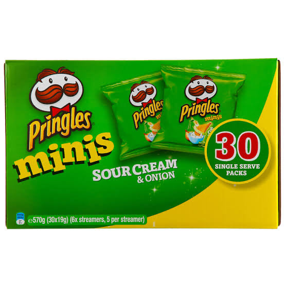 Pringles Sour Cream 30pack