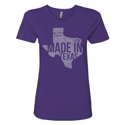 Purple Women's Made In Texas T-Shirt
