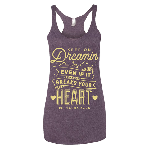 Purple Keep On Dreamin Tank