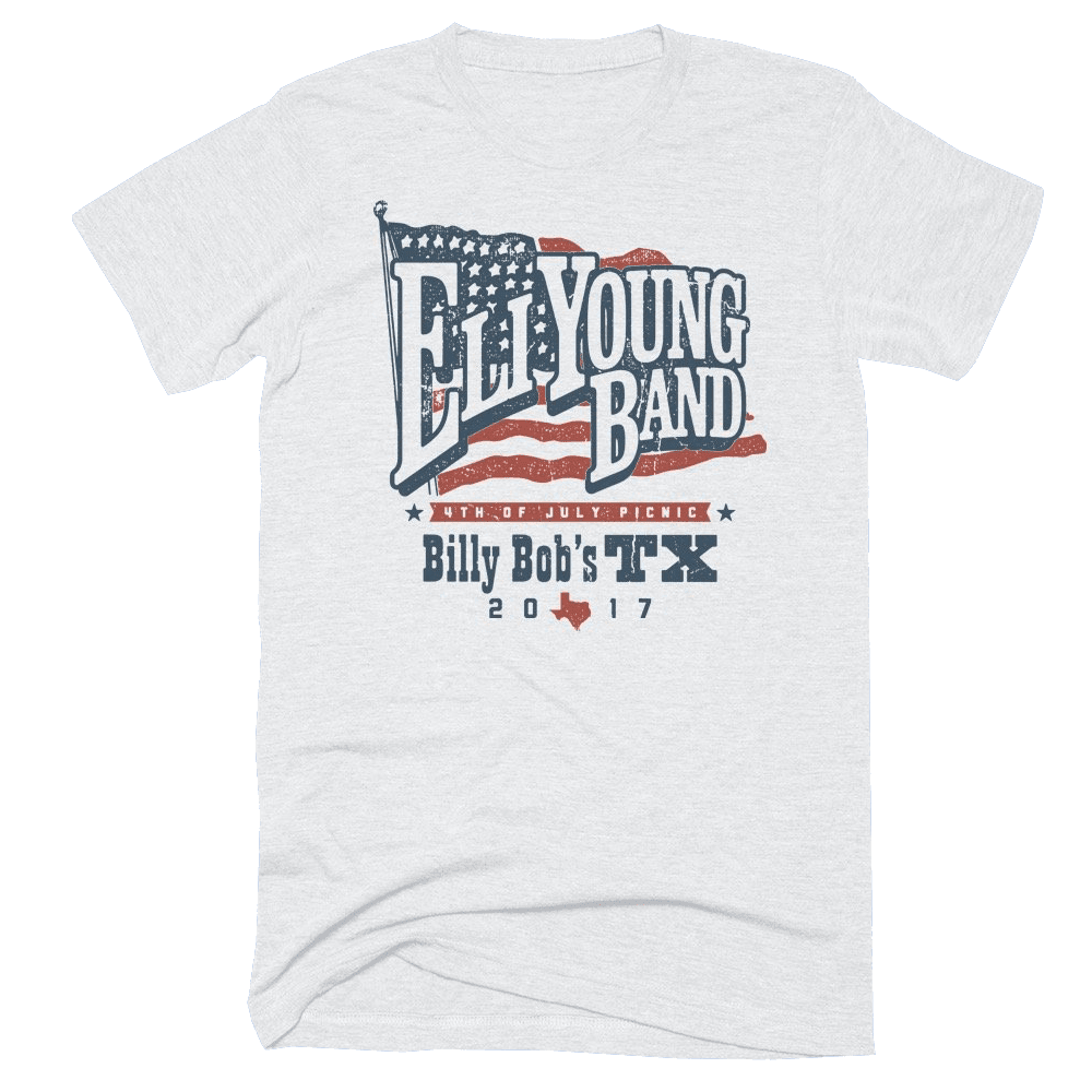 White Billy Bob's 4th of July 2017 T-Shirt