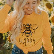 Bee Happy Long Sleeve 2400 Lands