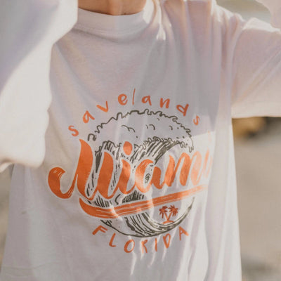 Miami Waves Long Sleeve