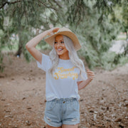 Sweet Sunshine Tee 5000 Lands White L