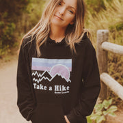 Take a Hike Black Hoodie 18500 Lands