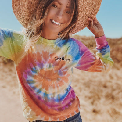 Simple Black Badge Eternity Tie Dye Long Sleeve 2000 - ETERNITY Lands S
