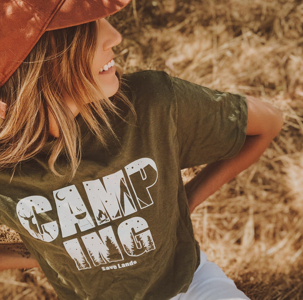 Camping Silhouette Tee 5000 Lands