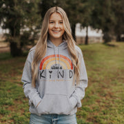 Choose Kind Hoodie Hoodie Printify Ash L