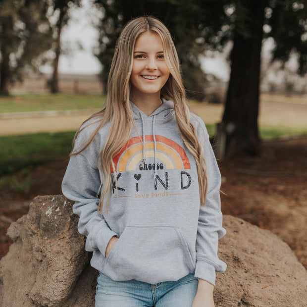 Choose Kind Hoodie Hoodie Printify