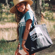 Take A Hike Tote Bag Q600 Lands