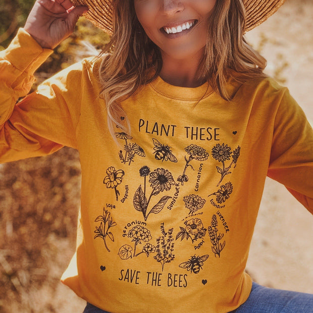 Plant These Long Sleeve 2400 Lands Gold S