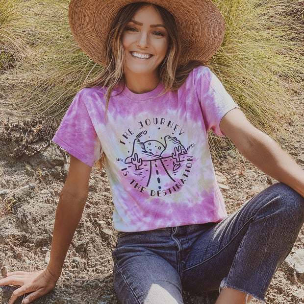 The Journey is the Destination Desert Rose Tee 1000 DESERT ROSE Lands S