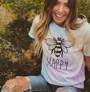 Bee Happy Snow Cone Tee 1000 SNOW CONE Lands