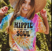 Hippie Soul Eternity Tie Dye Tee 1000 ETERNITY Lands